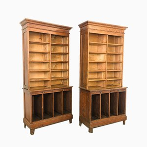 Vintage Open Library Bookcase