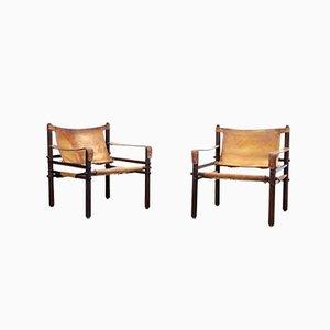 Sirocco Armlehnstühle von Arne Norell für Norell Mobler AB, 1960er, 2er Set
