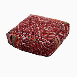 Vintage Moroccan Zemmour Pouf