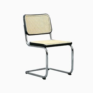 Black S 32 Cantilever Chair by Marcel Breuer for Thonet, 2000s