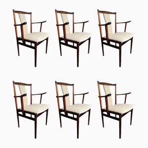 Rosewood Dining Chairs by Henning Sorensen, 1960s, Set of 6
