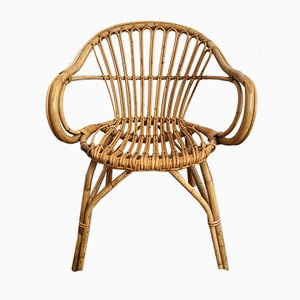 Rattan, Bamboo & Wicker Chair, 1970s