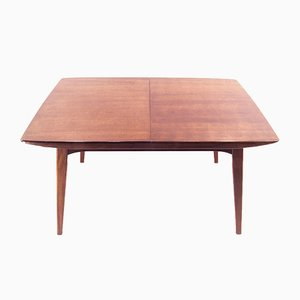 Extendable Teak Dining Table by Louis Teeffelen for Webe, 1960s