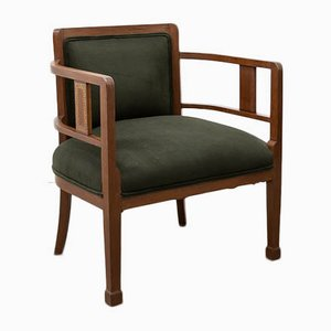 Antique Modernist Side Chairs in Ukola Wood, Set of 2