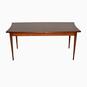 Vintage Rosewood Extending Dining Table from Uniflex, 1960s