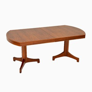 Vintage Walnut Extending Dining Table by Robert Heritage for Archie Shine, 1960s