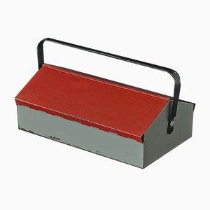 Boîte à Outils Rouge par Wilhelm Kienzle pour Mewa, Suisse, 1960s