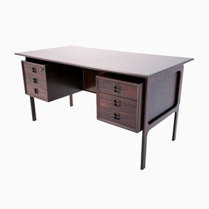 Danish Rosewood Desk by Arne Vodder, 1960s