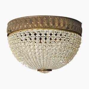Antique Ceiling Lamp by Josef Hoffmann for Wiener Werkstätte