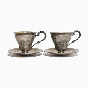 Silver Cups, 1920s, Set of 2