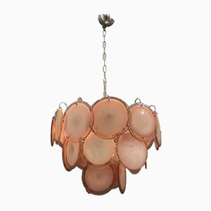Mid-Century Murano Glass Chandelier by Gino Vistosi, 1970s