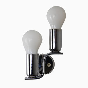 Bauhaus Style 2-Lamp Wall Light, 1930s