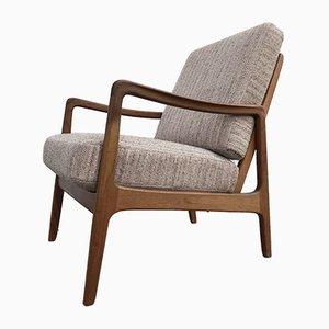 Mid-Century Teak Model FD119 Easy Chair by Ole Wanscher for France & Søn / France & Daverkosen