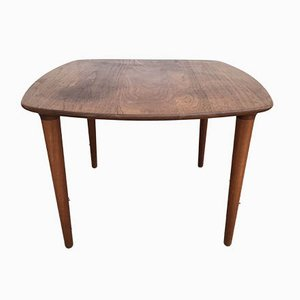 Small Norwegian Teak Side Table by Gustav Bahus for Bahus, 1960s