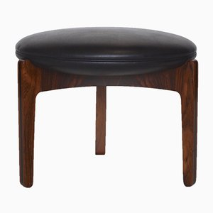 Danish Rosewood Ottoman by Sven Ellekaer for Christian Linneberg, 1960s