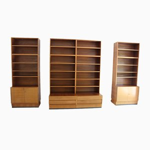 Teak Shelves, 1960s, Set of 4