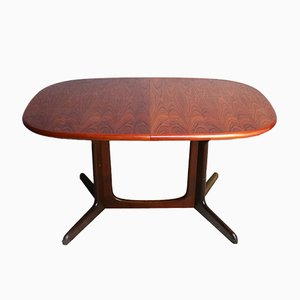 Danish Extendable Rosewood Dining Table from Gudme Mobelfabrik, 1960s