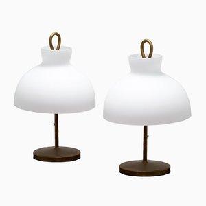 Arenzano Table Lamps by Ignazio Gardella for Azucena, 1956, Set of 2