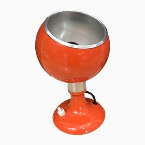 Orange Mid-Century Tischlampe, 1970er