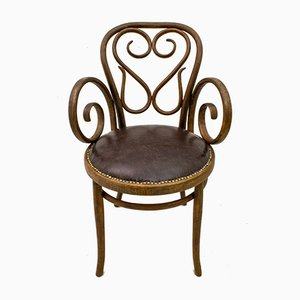 Antique Art Nouveau No. 4 Armchair by Michael Thonet for Thonet