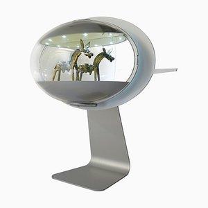 Beleuchtete Aluminium & Kunststoff Displays von See, 5er Set
