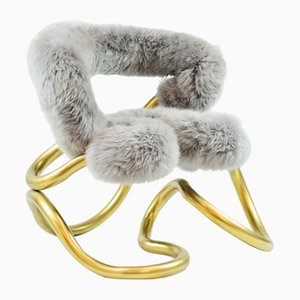 R3 Fur Chair by Aranda\Lasch