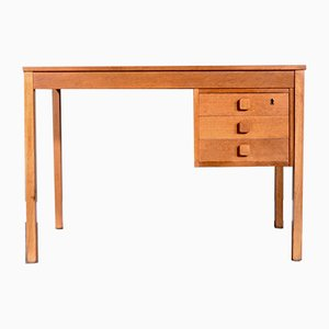 Danish Oak Desk from Domino Mobler, 1960s