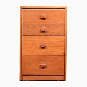 Mid-Century Teak Chest of Drawers by John & Sylvia Reid for Stag, 1960s