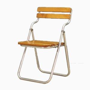 Danish Folding Chairs, 1970s, Set of 2