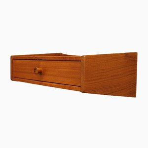 Teak Shelves from Ølholm Møbelfabrik, 1970s, Set of 2