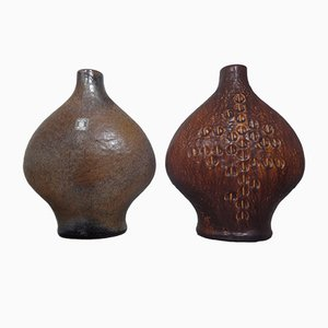 Studio Vases by Gerda Heuckeroth for Carstens Tönnieshof, 1960s, Set of 2
