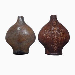 Studio Vases by Gerda Heuckeroth for Carstens Tönnieshof, 1960s, Set of 2