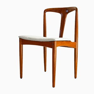 Teak Juliane Chairs by Johannes Andersen for Vamø, 1960s, Set of 8