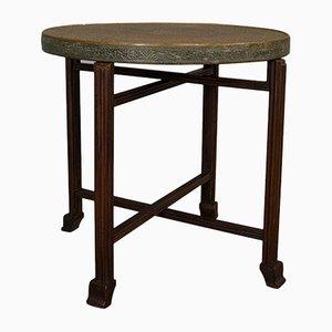 Vintage Art Deco Brass Berber Table, 1930s