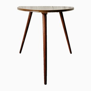 Table d'Appoint Tripode Mid-Century, Allemagne