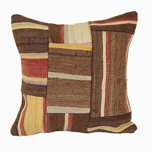 Turkish Patchwork Kilim Cushion Cover