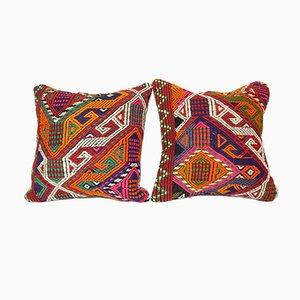 Cicim Kilim Cushion Cover, Set of 2