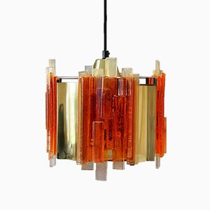 Vintage Danish Pendant Lamp by Claus Bolby for Holm Sørensen & Co, 1970s