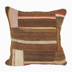 Organic Hemp Patchwork Kilim Cushion Cover