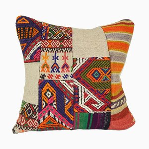 Decorative Patchwork Kilim Cushion Cover