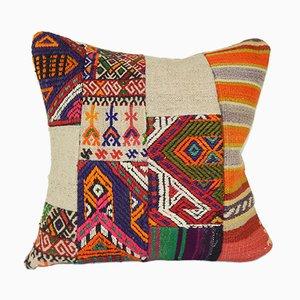 Decorative Patchwork Kilim Cushion Cover