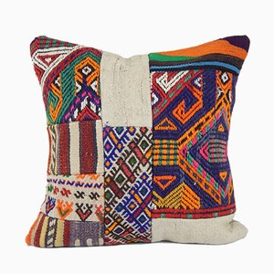 Decorative Turkish Patchwork Cushion Cover