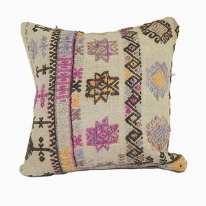 Square Ethnic Cushion Cover