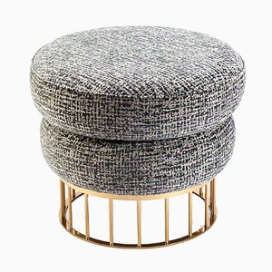 Mary Stool Brass Base by Mambo Unlimited Ideas