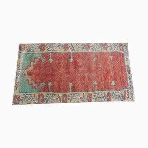 Kleiner türkischer anatolischer Vintage Vintage Teppich, 1970er