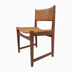 Model 350 Dining Chairs by Peter Hvidt & Orla Mølgaard-Nielsen for Søborg Møbelfabrik, 1960s, Set of 5