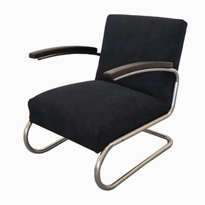 Vintage Model S411 Cantilever Armchair by Willem Hendrik Gispen for Thonet