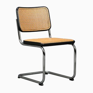 Black S 32 Cantilever Chair from Thonet, 1980s