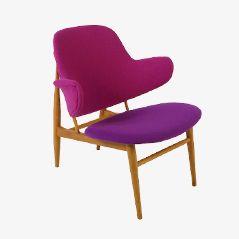 Shell Chair by Ib Kofod-Larsen for Christensen & Larsen