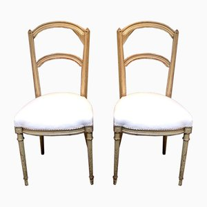 Late 19th Century Painted Chairs, Set of 2